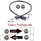 Type-C (USB C) to Micro USB Male Sync Charge OTG CHARGER Cable Cord Adapter Data