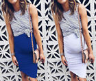 Fashion Pregnant Women Sleveeless Maternity Dress Mommy Casual Pregnancy Skirts
