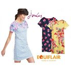 Joules Riviera Print T-Shirt Dress with Short Sleeves - SS19