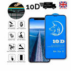 PREMIUM 10D Tempered Glass Full Screen Protector Cover for iPhone XS,XR,XS Max,X