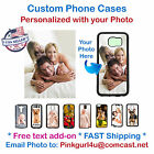 Personalized Picture Phone Cover Case For Samsung iPhone LG HTC Moto iPod