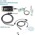 5M/2M Android Endoscope USB Waterproof Borescope Inspection camera 7mm 6  nM