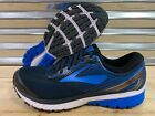 Brooks Ghost 10 Running Shoes DNA Blue Black 2E Extra Wide SZ ( 1102572E056 )