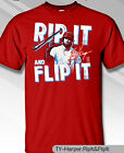 Philadelphia Phillies MLBPA BRYCE HARPER #3 Rip Flip Youth Boys Tee Shirt Red on Ebay