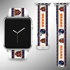 Chicago Bears Apple Watch Band 38 40 42 44 mm Series 1 2 3 4 Wrist Strap 04 on eBay