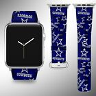 Dallas Cowboys Apple Watch Band 38 40 42 44 mm Series 5 1 2 3 4 Wrist Strap 04 $29.99 USD on eBay