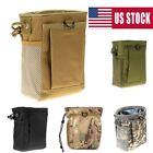 Tactical Airsoft Small Molle Mag Military DUMP Ammo Utility Pouch Bag Backpack