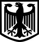 German Eagle Crest Vinyl Sticker Decal Deutschland Flag - Choose Size & Color