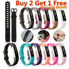 Wristband Silicone Bracelet Watch Straps Bands Replacement For Fitbit Alta /HR