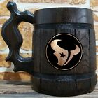 Houston Texans Wooden Beer Mug, American Football, Custom Beer Gift for Men $26.99 USD on eBay
