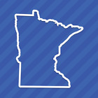 Minnesota Mn State Outline Vinyl Decal Sticker