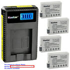 Kastar Battery LCD USB Charger for Canon LP-E8 LC-E8 & Canon EOS Kiss X6 Camera