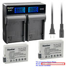 Kastar Battery LCD Rapid Charger for Canon LP-E8 LC-E8 & Canon EOS 700D Camera