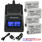 Kastar Battery LCD Fast Charger for Canon LP-E8 LC-E8 & Canon EOS 650D Camera
