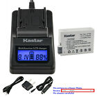 Kastar Battery LCD Fast Charger for Canon LP-E8 LC-E8 & Canon EOS Kiss X4 Camera
