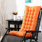 Outdoor Lounge Chair Cushion Tufted Soft Deck Chaise Padding Patio Pool Recliner