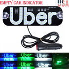 Taxi Led Light For Uber Car Cab Indicator Lamp Windshield Panel Sign Lights New