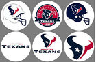 "Houston Texans Set of 6 Buttons or Magnets 1.25"" NEW $2.5 USD on eBay"