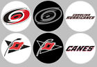 Carolina Hurricanes 6 Buttons or Magnets Set 1.25 inch $2.5 USD on eBay
