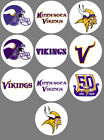 "Minnesota Vikings 10 Buttons or Magnets Set 1.25"" NEW $5.0 USD on eBay"
