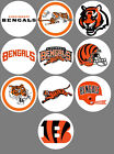 Cincinnati Bengals 10 Buttons or Magnets NEW 1.25 inch $5.0 USD on eBay