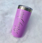 Personalized Name 20oz Tumbler | Laser Engraved | Select A Color | Pick A Font