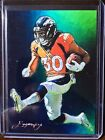PHILLIP LINDSAY Sketch Card Limited #/50 E.Vela artist hand signed print cards