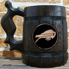Buffalo Bills Wooden Beer Mug, American Football, Custom Beer Gift for Men $26.99 USD on eBay