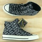 Converse Chuck Taylor All Star 70 High Top Gore Tex GTX Black White 162347C Size