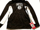 Brooklyn Nets Youth Boys Pullover Hoodie NWT XS 4-5 S 6-7 Black White NBA Kids on eBay
