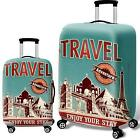 World Luggage Suitcase Cover Travel Protector Bag Scratch Dust WaterProof guard