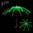 New 128 LED Light  Umbrella Belly Dance Costume Performance Showing 4 Colors