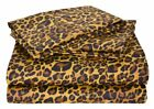 100% Egyptian Cotton Duvet Cover Leopard Print 1000 TC USA Size Button Closer.. image