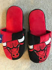 CHICAGO BULLS SLIDE ON SLIPPERS NON SKID SOLE MENS ADULT SIZES on eBay