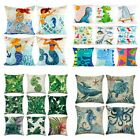 Assorted Linen Polyester Cushion Cover Happy Birthday Party Decor Gift Kid Favor
