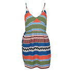 Wish New With Tags Tribal Print Dress Multicoloured