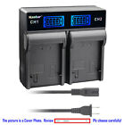 Kastar Battery LCD Rapid Charger for Canon BP-828 BP820 Canon VIXIA HF G60 HFG60