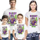CHUCK E CHEESE GIRL OR BOY Birthday shirt Personalized birthday shirt name age