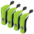 FixedPrice4pcs neoprene hybrid head cover golf club rescue cover with adjustable #tag ut