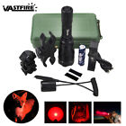 400 Yard Scope Mount Flashlight Hog Night Lamp Hunting Gun Air Rifle Torch Light