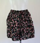 New Ladies EX George Floral Print  shorts size 10 12