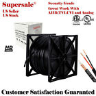 Rg59 CCTV Security Camera Siamese 500ft 1000ft Cable 20AWG+18/2 Bulk Wire