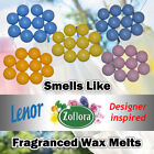 10 X Highly Scented Wax Melts Zoflora Lenor Designer Dupe Unstoppables Fragrance