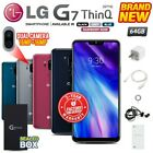 New Factory Unlocked LG G7 ThinQ G710 Black Blue Grey Rose 64GB Android Phone
