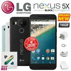 New & Sealed Factory Unlocked LG Nexus 5X Black White Blue 16GB Android Phone