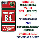 CUSTOM MINNESOTA WILD PHONE CASE COVER FOR iPHONE SAMSUNG GOOGLE LG etc $18.98 USD on eBay