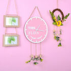 Non-Ticking Wall Clock with Blossom Design Baby Room Home Office Decoration