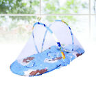 1PC Cute Portable Baby Bed Cots Mosquito Net for Outdoor Anti-mosquito Net (Red)