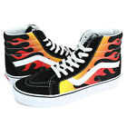 NIB Vans SK8-Hi Reissue Men's Flame Black Skateboard Shoes VN0A2XSBPHN
