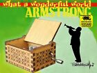 Kyпить What a wonderful world LOUIS ARMSTRONG Spieluhr Musikuhr Musicbox Neu  на еВаy.соm